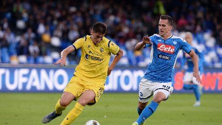 Serie A, le immagini più belle di Napoli-Hellas Verona