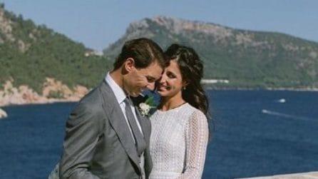 """Le foto del matrimonio di Rafael Nadal e Maria """"Xisca"""" Perelló"""