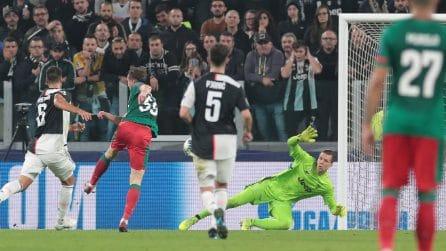 Champions, le immagini di Juventus-Lokomotiv