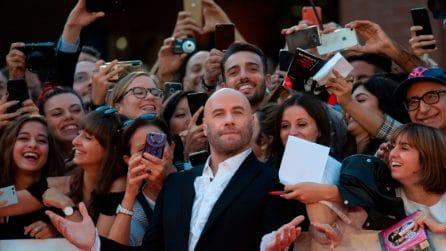 Le foto di John Travolta alla Festa del cinema di Roma 2019