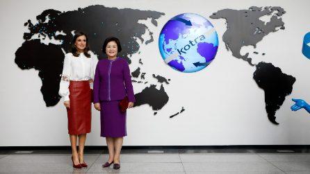 Letizia di Spagna, i look per il viaggio in Giappone e Sud Corea