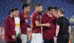 Europa League 2019/2020, le immagini di Roma-Borussia Mönchengladbach