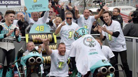 Lorenzo Dalla Porta campione del mondo Moto3
