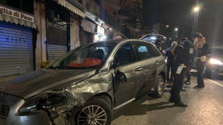 Napoli, auto travolge pedoni a Fuorigrotta