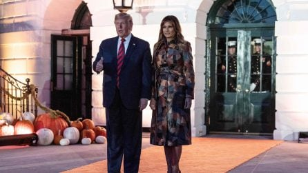 Halloween, il look a tema di Melania Trump