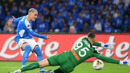 Serie A 19-20, le immagini di Napoli-Atalanta