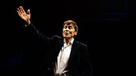Le foto di Gianni Morandi al Teatro Duse di Bologna