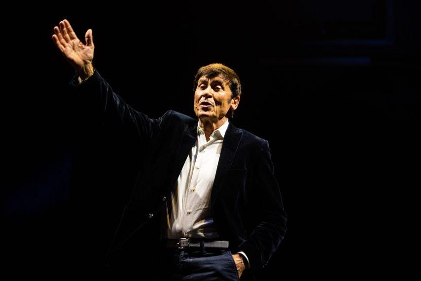 Gianni Morandi al Teatro Duse (ph Massimiliano Donati)