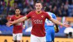 Serie A 2019/2020, le immagini di Roma-Napoli