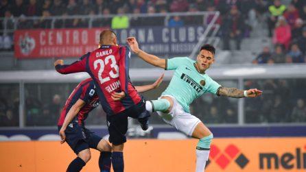 Serie A 19-20, le immagini di Bologna-Inter