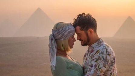 Katy Perry e Orlando Bloom in Egitto, le foto del viaggio da sogno