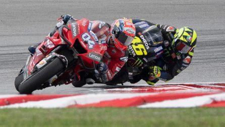 MotoGP, le foto di Valentino Rossi a Sepang