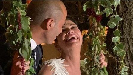 Le foto delle nozze di Demetra Hampton e Paolo Filippucci