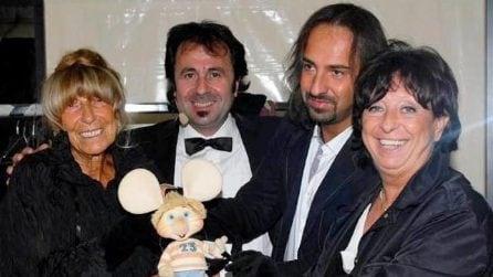 Le foto di Maria Perego e Topo Gigio