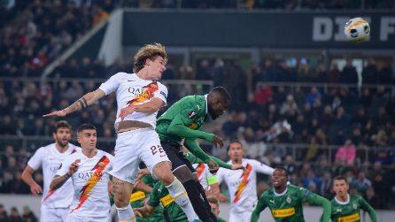 Europa League, le immagini di Roma-Borussia Mönchengladbach