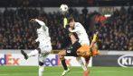 Bajric sviene in campo in Wolves-Slovan