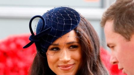 Meghan Markle, il look blue navy per il Field of Remembrance 2019