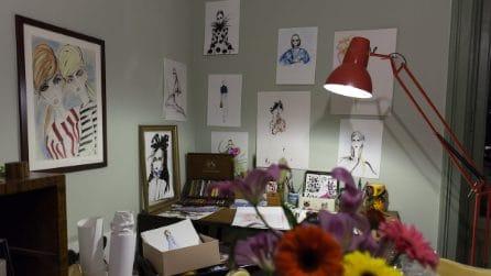A casa dell'artista Lucia Emanuela Curzi