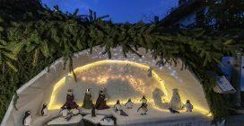 Presepi sull'acqua, le suggestive immagini dell'evento natalizio