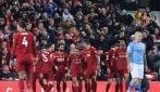 Liverpool, vittoria sul City e fuga verso il titolo in Premier