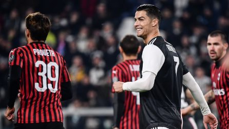 Serie A, le immagini di Juventus-Milan