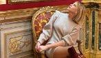 Il look di Alessia Marcuzzi per la festa dei 47 anni