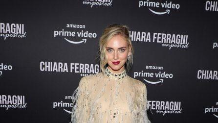 """Chiara Ferragni, il look piumato per la prima newyorkese di """"Unposted"""""""
