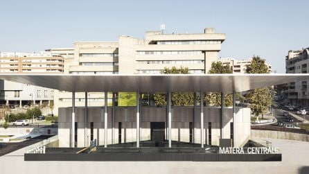 Ecco la nuova Stazione Centrale di Matera firmata da Stefano Boeri