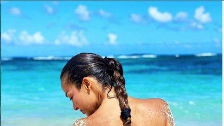Le foto di Giorgia Palmas e Filippo Magnini ai Caraibi