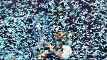 Atp Finals, le immagini della finale Tsitsipas-Thiem