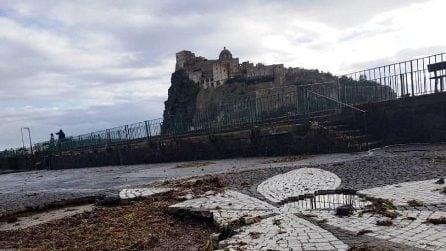 Maltempo a Ischia, il sindaco chiede lo stato di calamità per i danni