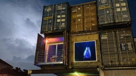 La casa di container più grande del mondo