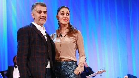 Le foto di Belen Rodriguez con il padre Gustavo