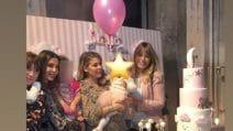 Il primo compleanno di Stella, figlia di Bobo Vieri e Costanza Caracciolo