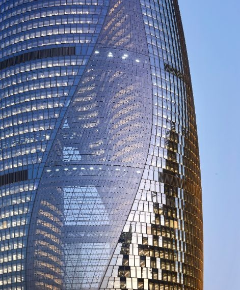 ZHA_Leeza Soho Tower Photo ©Hufton+Crow