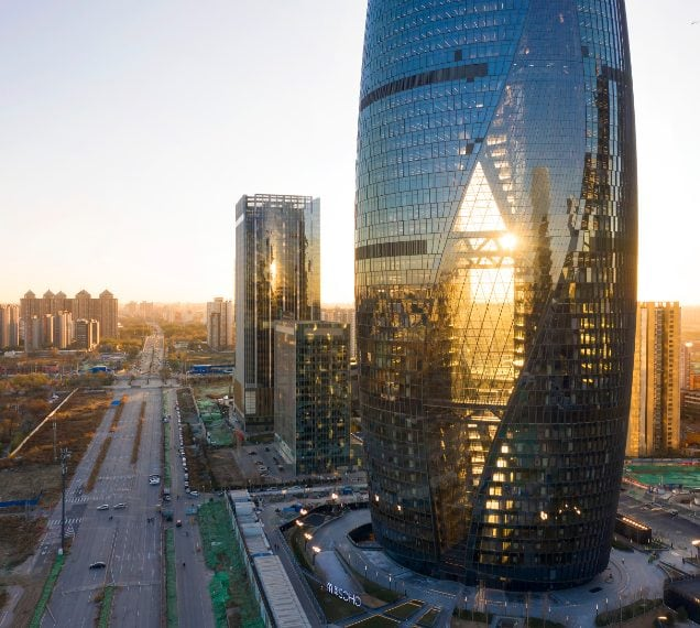 ZHA_Leeza Soho Tower Photo ©Hufton+Crow