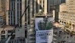 La stella dell'albero di Natale del Rockefeller Center
