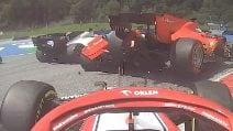 Quanti scontri tra Sebastian Vettel e Charles Leclerc