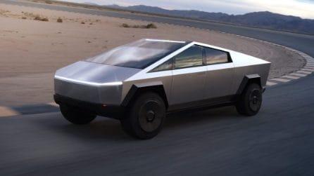 Tesla Cybertruck: il design