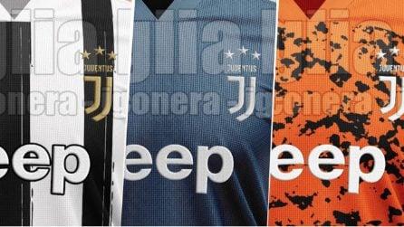 Juventus, le immagini delle possibili nuove maglie 2020/2021