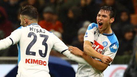 Serie A, le immagini di Milan-Napoli