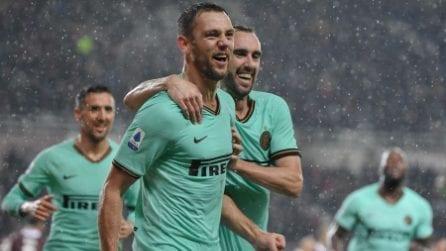 Serie A 19-20, le immagini di Torino-Inter