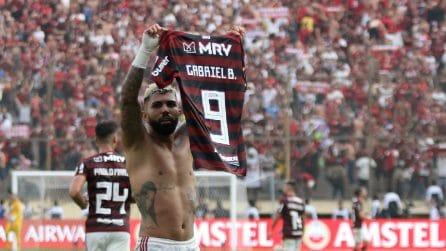 Copa Libertadores, il Flamengo batte il River (2-1): show di Batigol