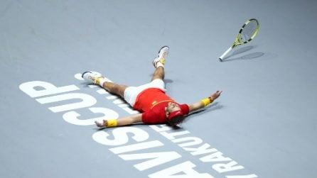 Coppa Davis, le immagini del trionfo della Spagna