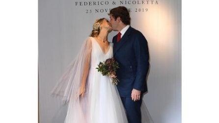 Gli abiti da sposa di Nicoletta Romanoff