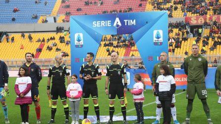 Serie A, le immagini di Lecce-Cagliari