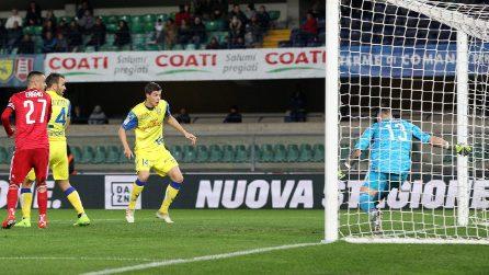Serie B, le immagini di Chievo-Entella 2-1