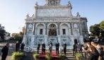 Terminato il restauro del Fontanone del Gianicolo