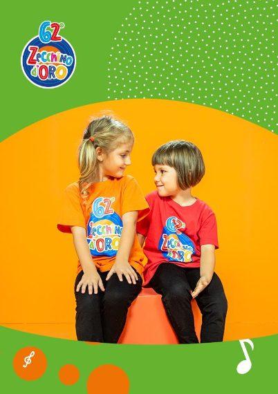 """Giulia Rizzo, 5 anni, di Palermo e Matilde Gazzotti, 4 anni, di Casalecchio di Reno (BO). """"I pesci parlano"""" (di Valerio Ciprì e Valerio Baggio)"""