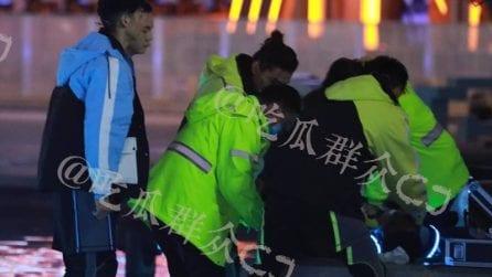 """Il top model Godfrey Gao muore durante le riprese di """"Chase Me"""": le immagini dei soccorsi"""